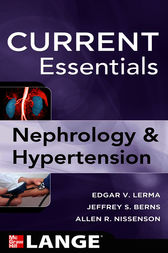 CURRENT Essentials of Nephrology & Hypertension by Edger Lerma