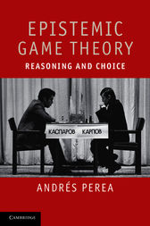 Epistemic Game Theory by Andrés Perea
