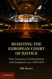 Resisting the European Court of Justice by Bill Davies