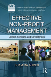 Effective Non-Profit Management by Shamima Ahmed