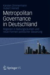 Metropolitan Governance in Deutschland by Karsten Zimmermann
