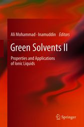 Green Solvents II by unknown