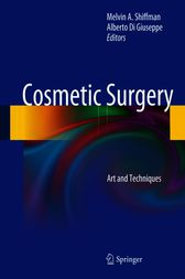 Cosmetic Surgery by Melvin A. Shiffman