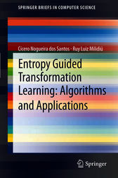 Entropy Guided Transformation Learning: Algorithms and Applications by Cícero Nogueira dos Santos