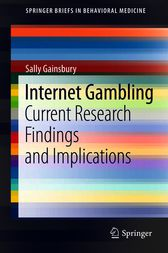 Internet Gambling by Sally Gainsbury