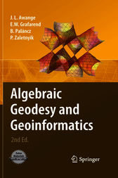 Algebraic Geodesy and Geoinformatics
