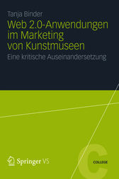 Web 2.0-Anwendungen im Marketing von Kunstmuseen by Tanja Binder