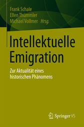 Intellektuelle Emigration by Frank Schale