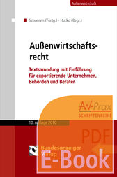 Auenwirtschaftsrecht (E-Book)