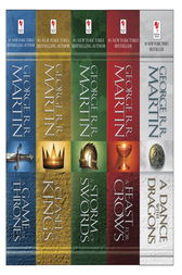 George R. R. Martin's A Game of Thrones 5-Book Boxed Set (Song of Ice and Fire Series) by George R.R. Martin
