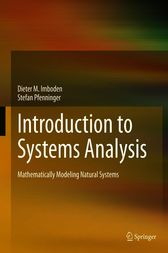 Mathematical Modelling of Natural Systems by Dieter M. Imboden