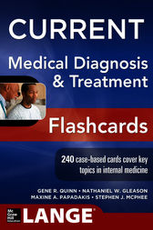 CURRENT Medical Diagnosis and Treatment Flashcards (EBOOK)