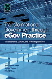 Transformational Government Through eGov by Mahmud Akhter Shareef