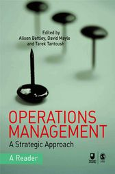 Operations Management by Alison Bettley