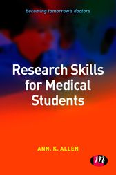 Research Skills for Medical Students by Ann Allen