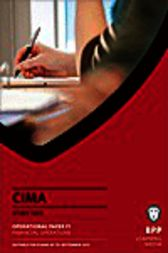 CIMA F1 by BPP Learning Media