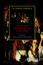 The Cambridge Companion to English Literature, 1740–1830 by Thomas Keymer