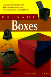 Origami Boxes by Florence Temko