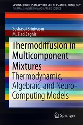 Thermodiffusion in Multicomponent Mixtures by Seshasai Srinivasan