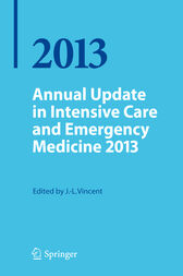 Annual Update in Intensive Care and Emergency Medicine 2013 by Jean Louis Vincent