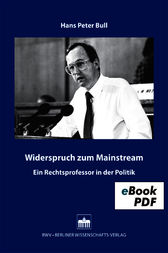 Widerspruch zum Mainstream by Hans Peter Bull