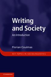 Writing and Society