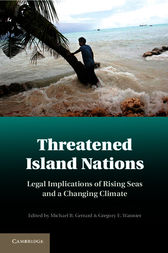 Threatened Island Nations by Michael B. Gerrard