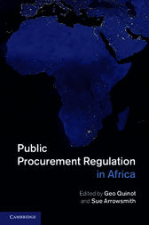 Public Procurement Regulation in Africa by Geo Quinot