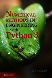 Numerical Methods in Engineering with Python 3 by Jaan Kiusalaas