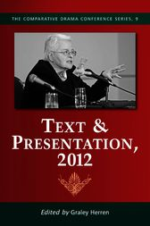 Text & Presentation, 2012 by Graley Herren