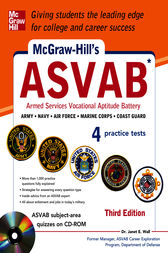 McGraw-Hill's ASVAB with CD-ROM, 3rd Edition (EBOOK)