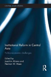 Institutional Reform in Central Asia by Joachim Ahrens