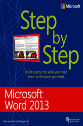 Microsoft Word 2013 Step by Step by Joan Lambert