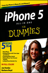 iPhone 5 All-in-One For Dummies by Joe Hutsko