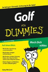 Golf für Dummies by Gary McCord