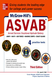 McGraw-Hill's ASVAB, 3rd Edition by Janet E. Wall