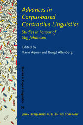 Advances in Corpus-based Contrastive Linguistics