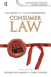 Key Facts: Consumer Law by Jacqueline Martin