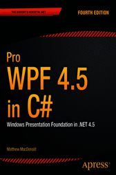 Pro WPF 4.5 in C# by Matthew MacDonald