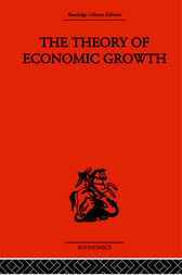 Theory of Economic Growth by W. Arthur Lewis