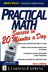 Practical Math Success in 20 Minutes a Day by LearningExpress LLC Editors
