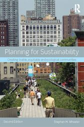 Planning for Sustainability