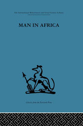 Man in Africa by Mary Douglas