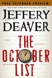 The October List - Free Preview (first 4 chapters) by Jeffery Deaver