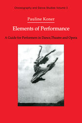 Elements of Performance by Pauline Koner