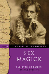 Usual Aleister crowley sex magick the