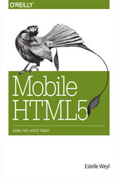 Mobile HTML5 by Estelle Weyl
