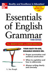 Essentials of English Grammar by L. Baugh