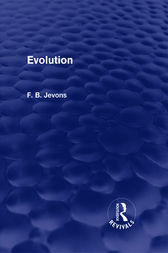 Evolution by F. B. Jevons