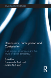 Democracy, Participation and Contestation by Emmanuelle Avril